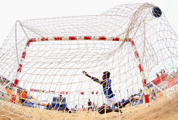 Beach Handball en Pocitos.