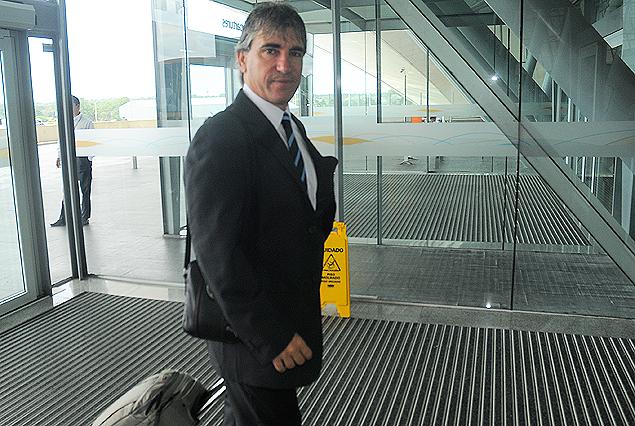 Juan Verzeri, entrenador de la selección sub 20 de Uruguay