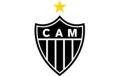 Escudo de Atlético Mineiro de Brasil.