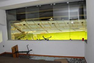 Los hinchas de Vélez Sarsfield destrozaron uno de los Palcos Vip de la América sobre la Colombes.