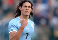 Edinson Cavani, el capocannonieri de la Serie A de Italia.