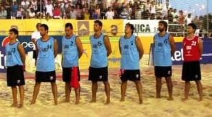 Selección Uruguaya de beach handbol.