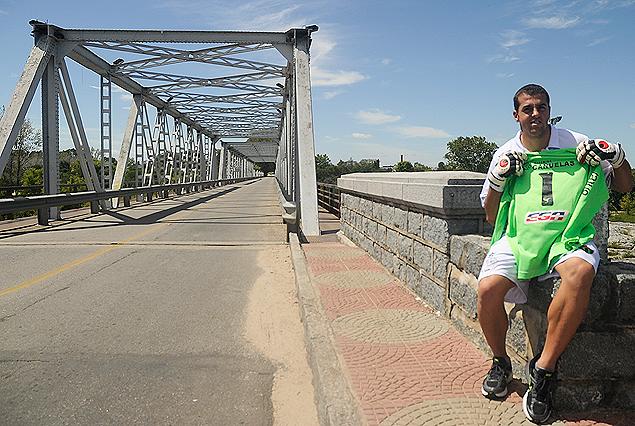 El dueño del arco de El Tanque sabe cuál es el camino que conduce a su equipo a la Copa Libertadores.