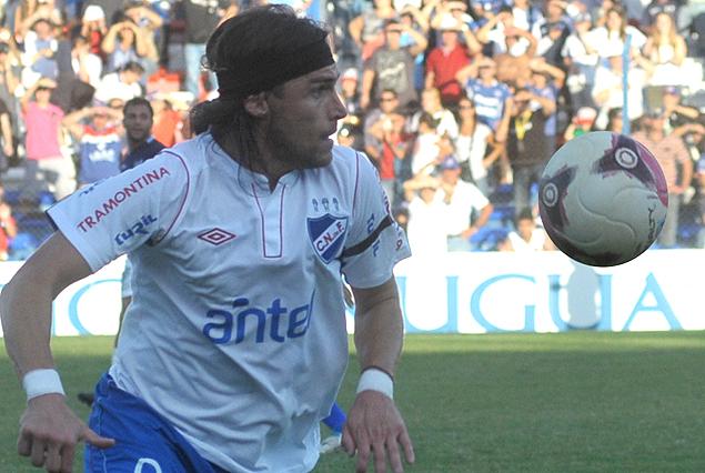 Aleander Medina en el grito de gol del empate tricolor.