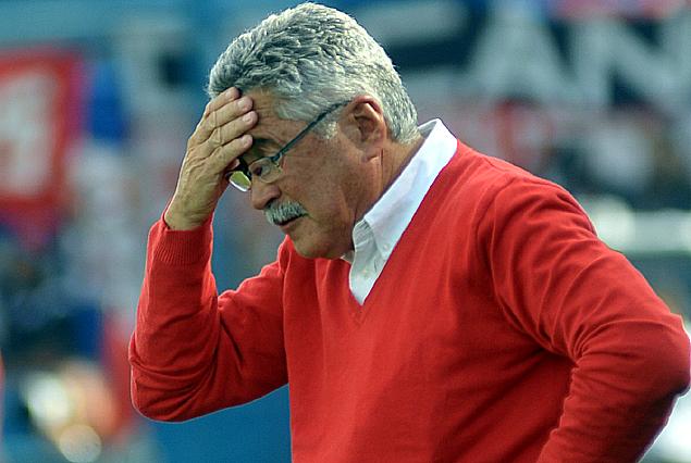 """""""Para mí perdimos dos puntos, teníamos la mesa servida con el resultado que se dio ayer, pero no lo supimos aprovechar"""", dijo un preocupado Juan Carlos Blanco."""