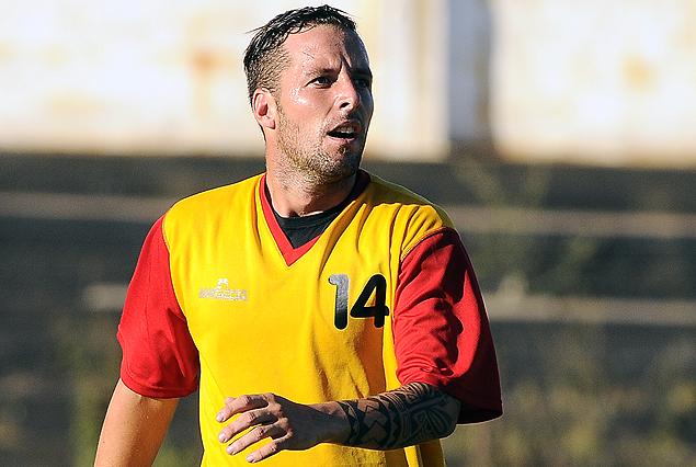 Pablo Lavandeira convirtió uno de los goles en el partido de preparación.