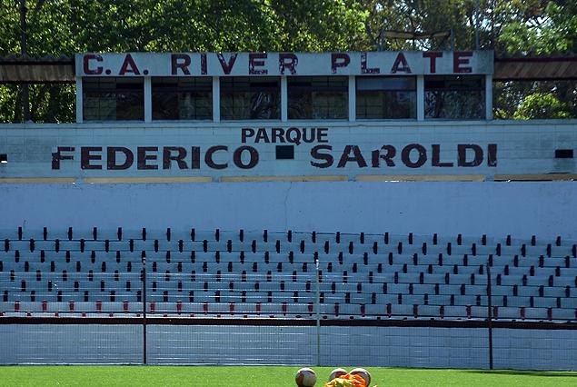 El Parque Federico Saroldi, escenario donde River Plate quiero llevar a Nacional.