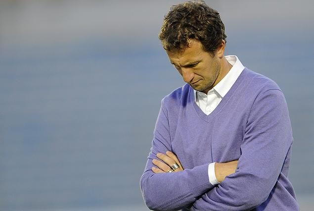 """""""Es lógico que si no llegan los resultados le apunten al entrenador"""", comentó Rodolfo Arruabarrena."""
