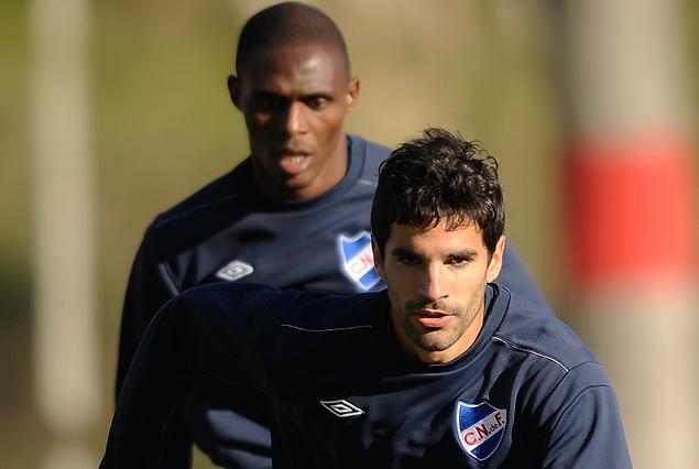 JUan Manuel Díaz y Efraín Cortés entrenaron diferenciado, con expectativa para estar a la orden.