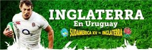 Afiche de la presentación de Inglaterra en Uruguay.