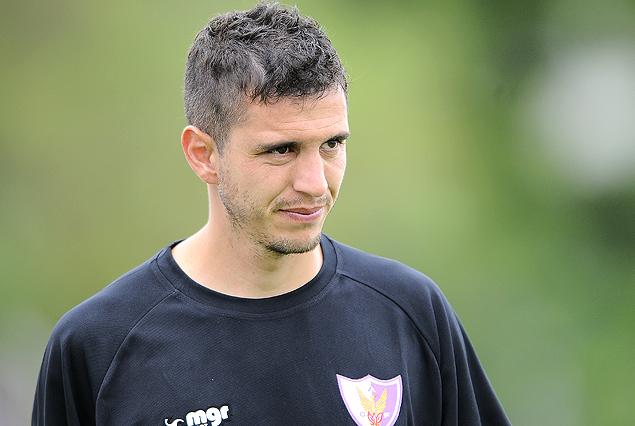 Nicolás Vigneri, estuvo en el once titular que conformó el miércoles Eduardo Favaro.