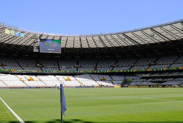 Estadio Mineirao de Belo Horizonte.
