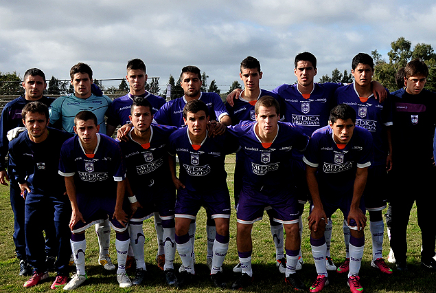 Formación de la cuarta división violeta, campeona del Torneo Apertura 2013.