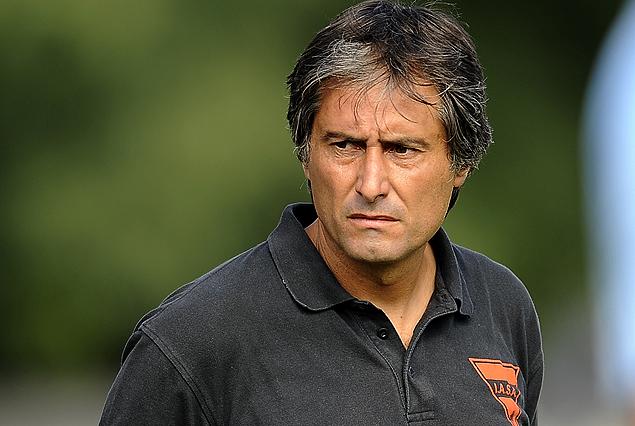 Alejandro Apud, entrenador de Sud América, que se prueba el martes con Vélez.