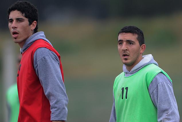 Luis Machado y Marcel Román llegaron al verdinegro para jugar la Copa Sudamericana y el Torneo Apertura.