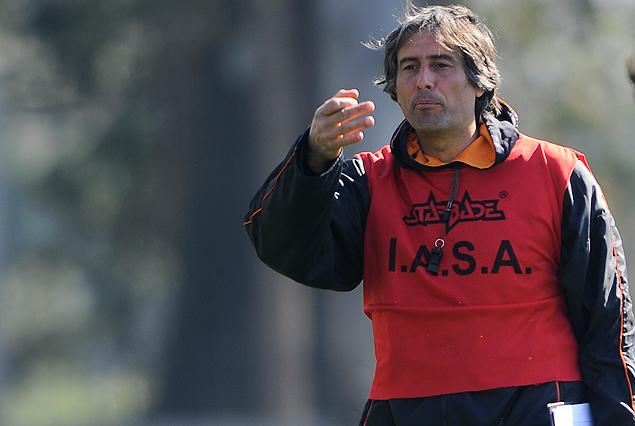 Alejandro Apud, entrenador de Sud América.