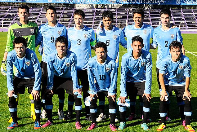 Selección Sub 15 de Uruguay.