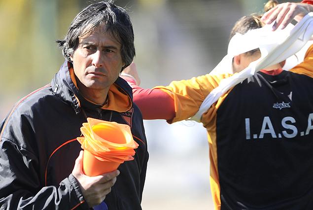 Alejandro Apud, entrenador de Sud América