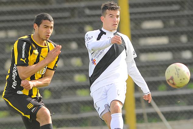Incidencia de Peñarol 2:0 Danubio, en Las Acacias, por el Torneo Apertura de Tercera división.