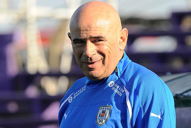 Alejandro Garay, entrenador de la Selección Sub 15.
