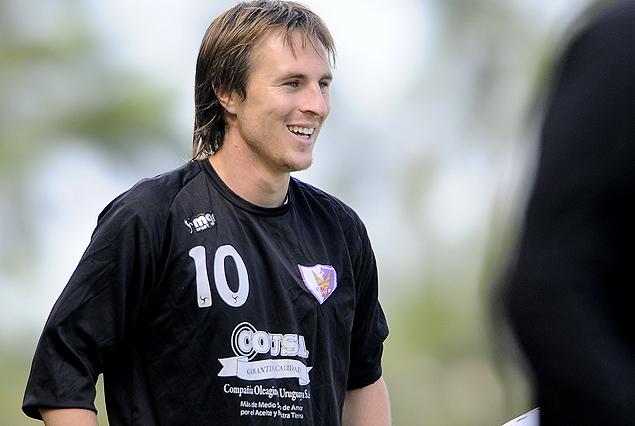 Hernán Novick, tiene chance de volver al primer equipo.