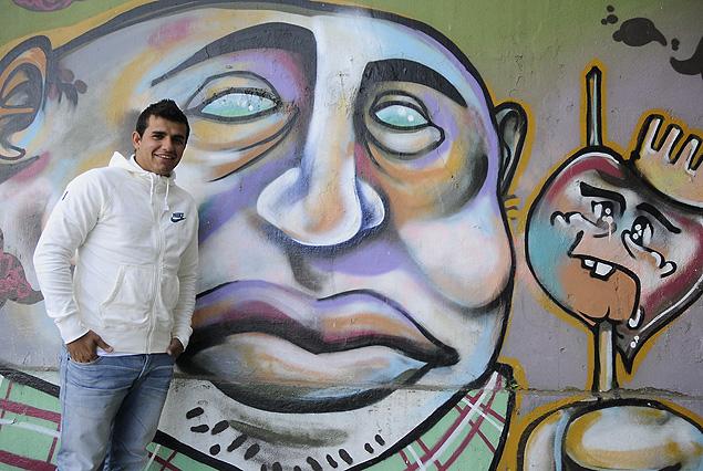 Liber Quiñones en la imagen del gran goleador de Danubio en el Torneo Apertura.