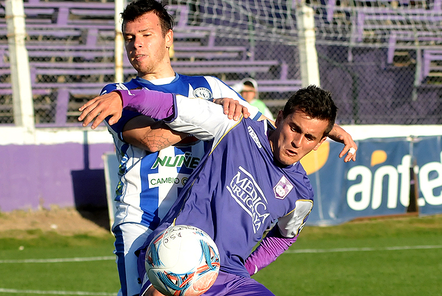Adrián Luna jugó el segundo tiempo y levantó a la viola en el empate 2:2 con Cerro Largo.