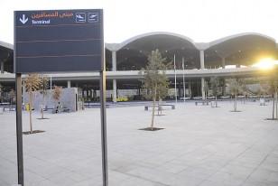 El modernoy silencioso aeropuerto de Ammán, tan distinto a la locura que ofrece el turco de Estambul.