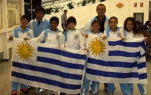 Delegación Uruguaya del Sudamericano.