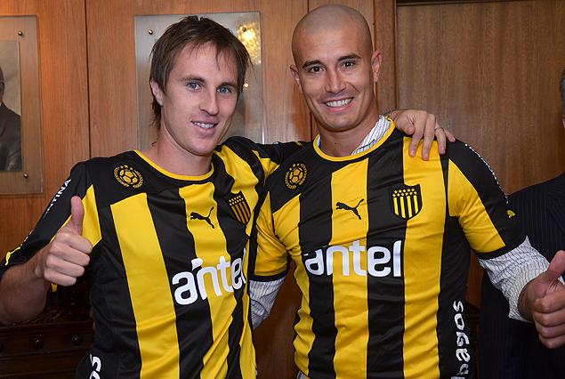 Hernán Novick y Pablo Lima ya son carboneros.