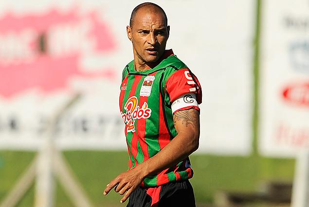 Lionel Pilipauskas, en la defensa de Deportivo Maldonado.