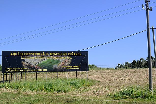 Se iniciaron las obras del Estadio de Peñarol