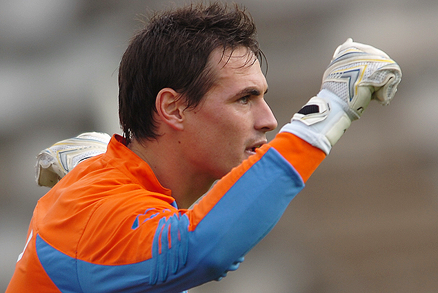 Mauro Goicoechea, arquero ex Danubio, fue presentado el sábado en el club Arouca de Portugal.