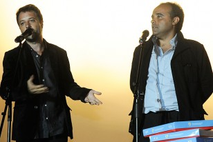 Sebastián Bednarik y Andrés Varela, los directores de Maracaná.