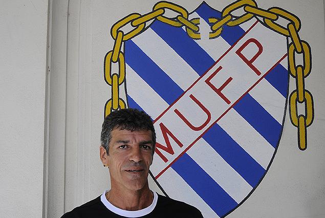Enrique Saravia, Presidente de la Mutual Uruguaya de Futbolistas Profesionales.