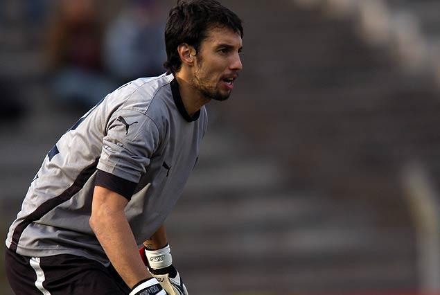 Fabián Carini, flamante contratación de Juventud, se integra el lunes al plantel que dirige Jorge Giordano.