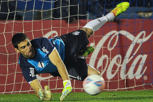 El penal atajado por Ichazo que le dio el título del Campeón uruguayo a Danubio.