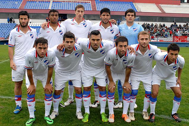 El equipo que jugó esta tarde la segunda final.