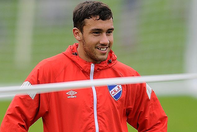 Nicolás Cordero, juvenil ascendido y que viaja a España para jugar la Copa Teresa Herrera.