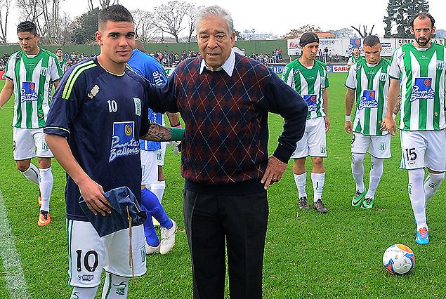 Agustín Gutiérrez y Eladio Benítez, los goleadores históricos de Sayago