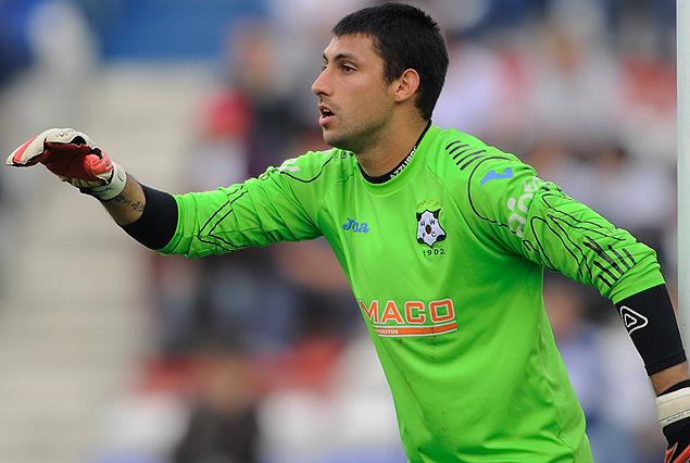 El arquero Martín Rodríguez no renovará con Wanderers.