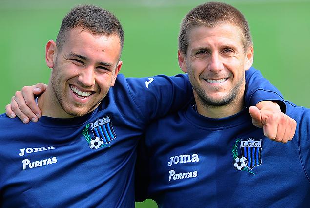 Junior Arias y Emiliano Alfaro, la dupla ofensiva de Liverpool.