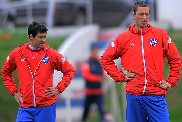 Ignacio González y José Aja, dos que comienzan a vestirse de titulares.