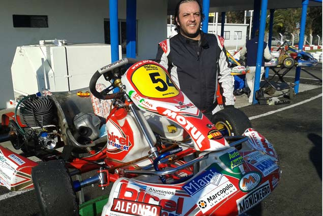 Nicolás Alfonzo, categoría Senior.