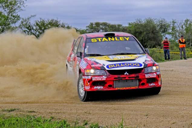 Rodrigo Zeballos/Sebastián Dotta (Mitsubishi Evo 9)