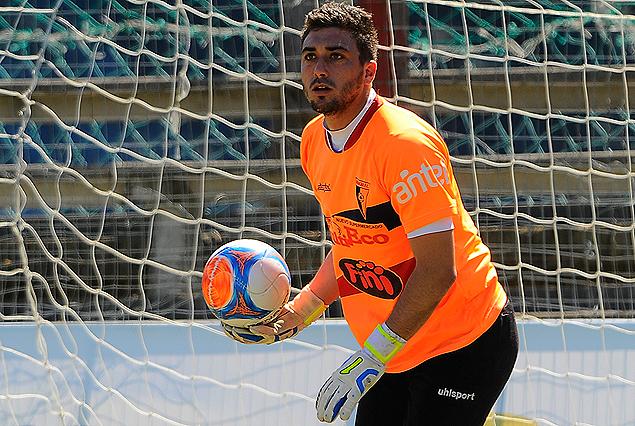 Ignacio Barrios, el mejor de la cancha