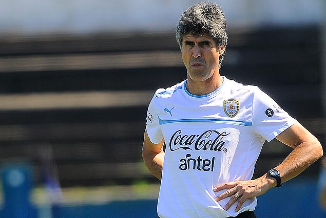Santiago Ostolaza, seleccionador Sub 17 de Uruguay.