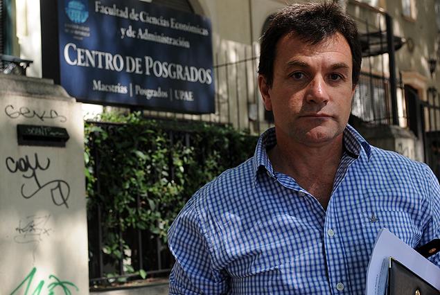 Jorge Giordano: doctorado y maestría