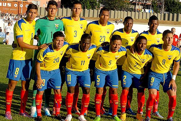 Selección Sub 20 de Ecuador.