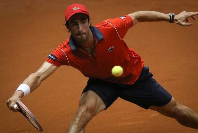 Pablo Cuevas estuvo a un  punto de la semifinal pero finalmente cayó ante Rafael Nadal